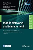Mobile Networks and Management: 8th…