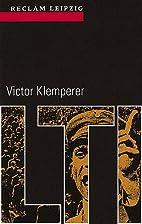 LTI : Notizbuch eines Philologen by Victor…