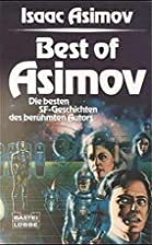 Best of Asimov, Sonderband by Isaac Asimov