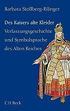 Des Kaisers alte Kleider:…