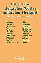 Kleines Lexikon deutscher Wörter…