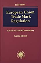 European Union Trade Mark Regulation: (EU)…