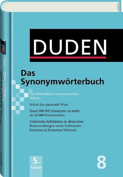 Deutsch duden synonyme online dating