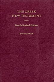 The Greek New Testament (Greek and English…