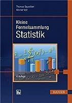Kleine Formelsammlung Statistik by Thomas…