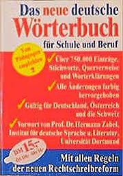 Das neue deutsche Wörterbuch für…