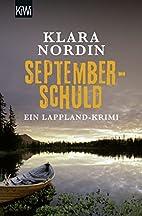 Septemberschuld: Ein Lappland-Krimi (KiWi)…