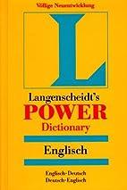 Langenscheidt's Power Dictionary,…