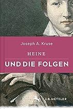 Heine und die Folgen (German Edition) by…