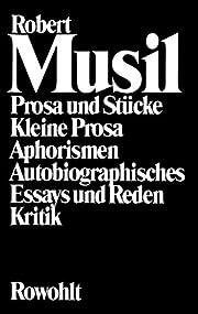 Gesammelte Werke II: Prosa und Stücke /…