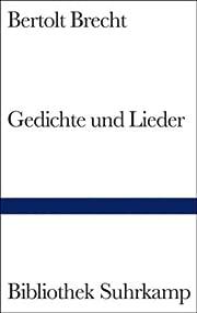 Bibliothek Suhrkamp, Bd.33, Gedichte und…