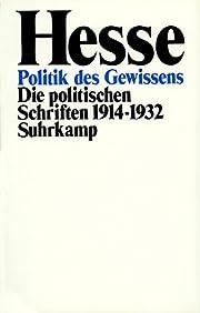 Politik des Gewissens. Die politischen…