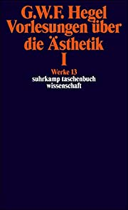 Vorlesungen über die Ästhetik Band 1 af…