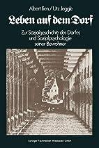 Leben auf dem Dorf : zur Sozialgeschichte d.…