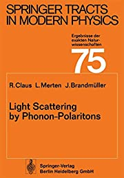 Light Scattering by Phonon-Polaritons…