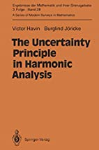 The Uncertainty Principle in Harmonic…