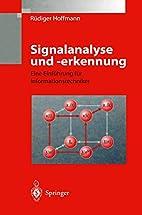 Signalanalyse und -erkennung: Eine…