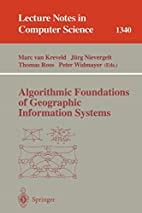 Algorithmic Foundations of Geographic…
