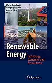Renewable Energy: Technology, Economics and…
