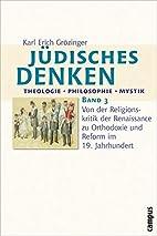 Jüdisches Denken : Theologie, Philosophie,…