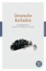 Deutsche Balladen de Christiane Freudenstein