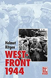 Westfront 1944 por Helmut Ritgen