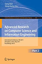 Advanced Research on Computer Science and…
