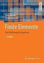 Finite Elemente: Eine Einführung für…