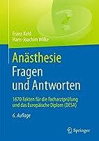 Anästhesie. Fragen und Antworten: 1670…