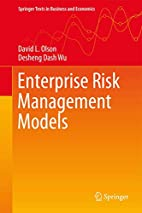 Enterprise Risk Management Models (Springer…