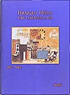 A Hannah Hoch, 2 Volume (German Edition) by…