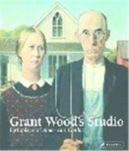 American Gothic painted by Grant Wood