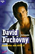 David Duchovny by Paul Mitchell