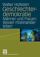 Geschlechterdemokratie: Männer und…
