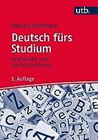 Deutsch fürs Studium: Grammatik und…