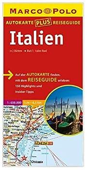 Italien Autokarte plus Reiseguide