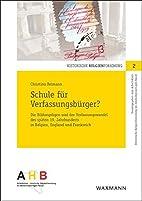 Schule f©ơr Verfassungsb©ơrger?…