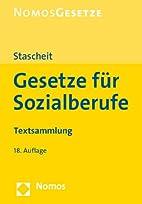 Gesetze für Sozialberufe: Textsammlung…