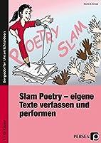 Slam Poetry - eigene Texte verfassen und…