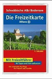 Schwäbische Alb/Bodensee Freizeitkarte ;…