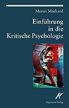 Einführung in die Kritische Psychologie:…