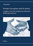 Private Corruption and its Actors: Insights…