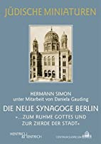 The New Synagogue, Berlin :…