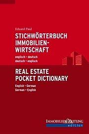 Stichwörterbuch Immobilienwirtschaft…