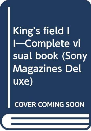 キングスフィールド1・2・3聖典 (The PlayStation BOOKS)