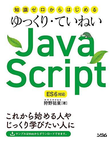 動かしながらさくっと身につく 今こそホンキで覚えるJavaScript[JS/ES2016対応]
