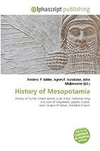 History of Mesopotamia: History of Sumer,…