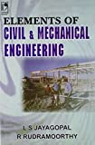 Elements of civil and mechanical engineering