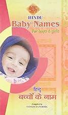 Hindu Baby Names by Sangeeta Verma