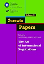 Zurawia Papers 14 The Art of International…